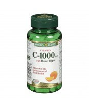 NATURE'S BOUNTY C 1000MG WITH ROSE HIPS CAPLETS 100'S