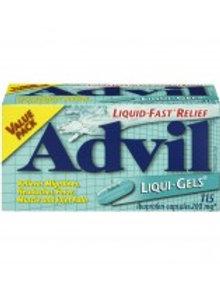 ADVIL LIQUI-GELS 115'S