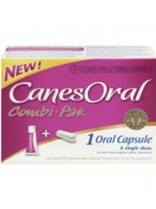 CANESORAL COMBI-PAK 1'S