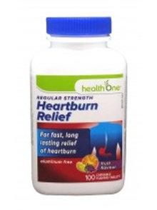 H ONE HEARTBURN RELIEF FRUIT 100'S