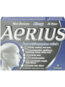 AERIUS TABS 5MG 20'S