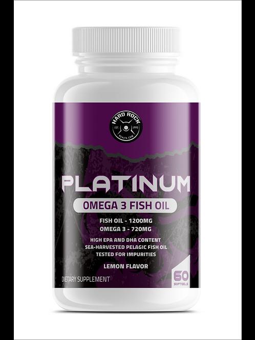 Hard Rock Health® Omega 3 Fish Oil