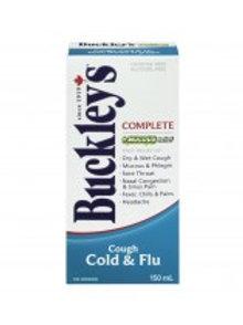 BUCKLEY'S CMPLT + MUCOUS RELF COUGH COLD & FLU 150ML