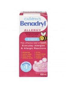 BENADRYL CHILDREN LIQUID 100ML