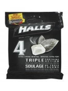 HALLS X-STRENGTH 4'S