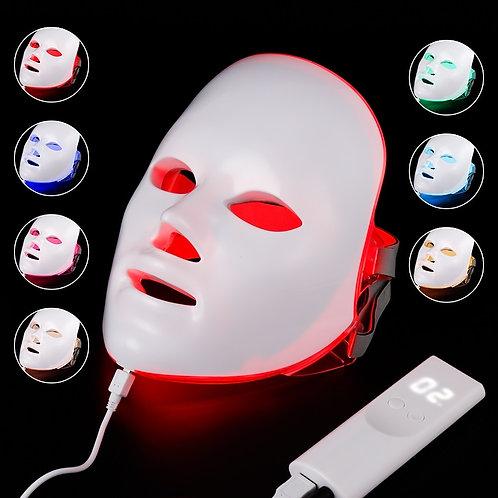 7 Colors Light LED Facial Mask Skin Rejuvenation LED Mask Phototherapy Face Care