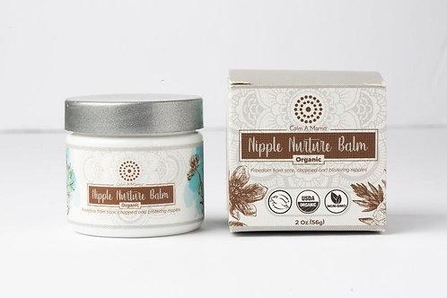 Organic Nipple Nurture Balm (2 Oz) - Breastfeeding Cream - USDA Organic