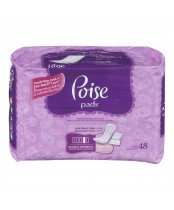 POISE PAD MAX ABSORB 48'S