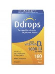 D DROPS 1000IU 5ML