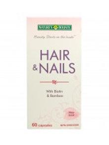 NATURE'S BOUNTY HAIR/NAILS CAPS 60'S