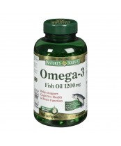 NATURE'S BOUNTY OMEGA EXTRA FISH OIL 1200MG SOFTGELS 120'S