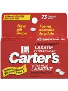 CARTERS LITTLE PILLS LRG 75'S
