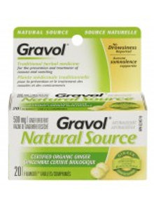 GRAVOL GINGER NAT SRCE A/NAUS 20'S