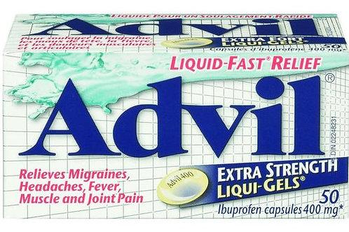 ADVIL LIQUI-GELS X-STR 50'S