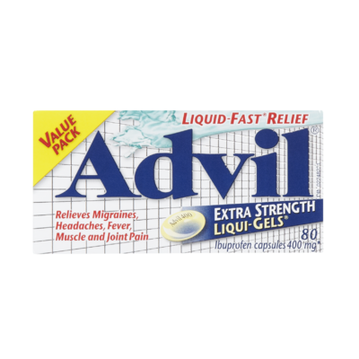 ADVIL LIQUI-GELS X-STR 80'S