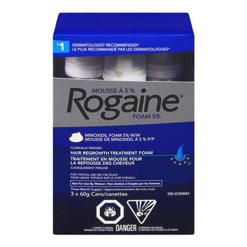 ROGAINE 5% MAN FOAM 3X60G