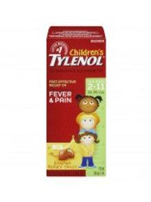 TYLENOL CHILD BANANA BERRY TWIST 100ML