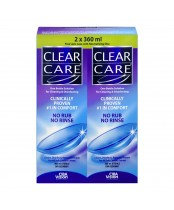 CLEAR CARE LENS SOLN TWIN PK 2/360ML