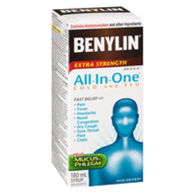 BENYLIN 1 ALL IN ONE COLD & FLU 180ML