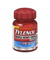 TYLENOL MUSCLE ACHES&BODY PAIN 110'S