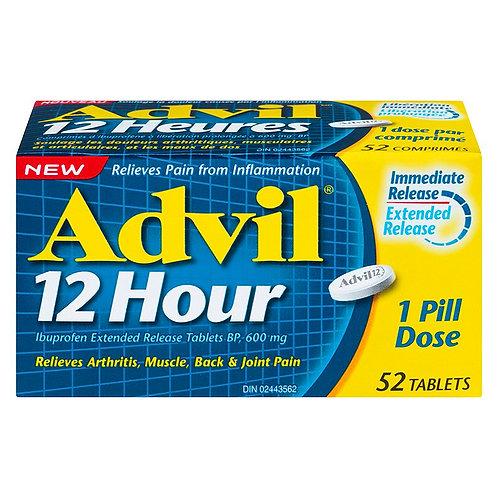 ADVIL 12 HOUR 52'S