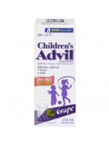 ADVIL FOR CHILD DYE FREE SUSP GRAPE 230ML