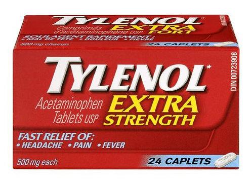 TYLENOL CPLT X-STR 24'S