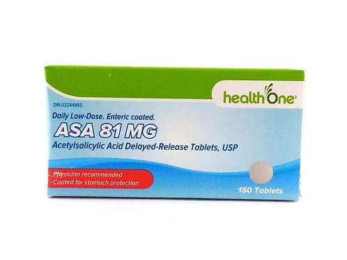 H ONE A.S.A. LOW DOSE 81MG TABS 150'S