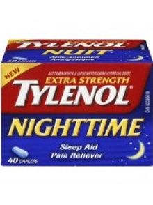 TYLENOL NIGHTTIME X-STR 40'S