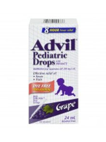 ADVIL PEDIATRIC DROPS DYE FREE 24ML