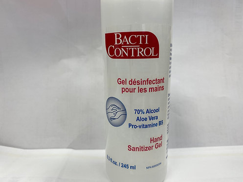 Bacti Control Hand Sanitizer Gel 245 ML