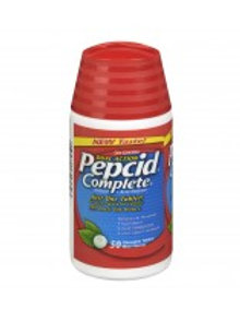 PEPCID COMPLETE CHEW MINT TABS 50'S