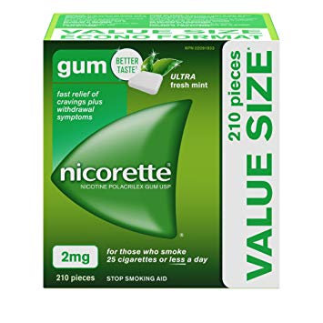 NICORETTE ULTRA FRESH MINT 2MG 210'S