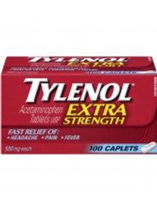 TYLENOL CPLT X-STR 100'S