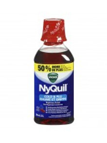 VICKS NYQUIL COLD & FLU CHERRY 354ML