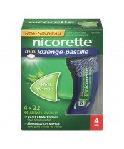 NICORETTE MINI LOZENGE FRESH MINT 4MG 88'S