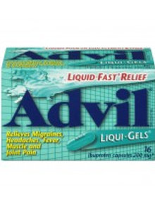 ADVIL LIQUI-GELS 16'S