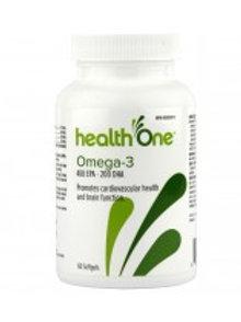 H ONE OMEGA-3 1065MG SOFTGEL 60'S