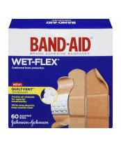 J&J BAND-AID WETFLEX 60'S