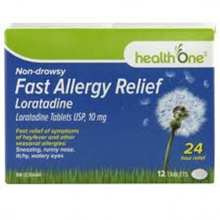 H ONE ALLERGY RELIEF 24HR 10MG 12'S