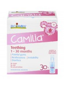 CAMILIA TEETHING 1-30 MONTHS 1ML30'S