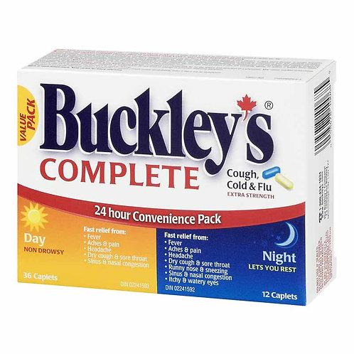 BUCKLEY'S 24HR RELIEF PACK XSTRG 48'S