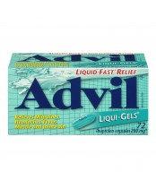 ADVIL LIQUI-GELS 200MG CAPS 72'S