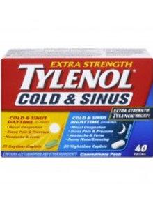 TYLENOL COLD & SINUS DAY/NIGHT 40'S