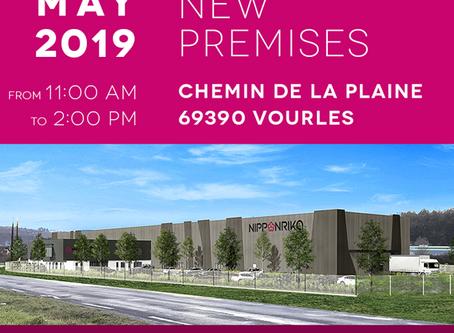 Nippon Rika inaugura nova fábrica com mais de 4000 m² em Lion, França.