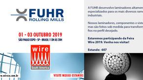 Venha visitar o estande da Fuhr na feira Wire!