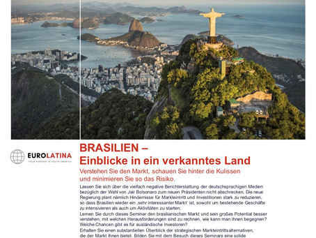 BRASILIEN, DAS VERKANNTE LAND!
