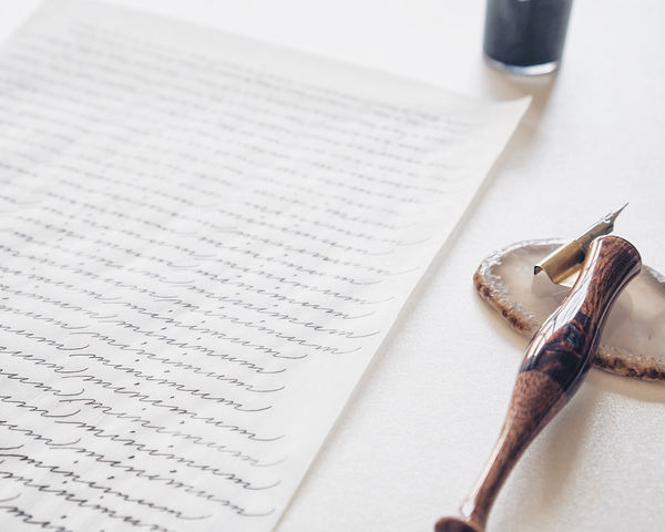 Martha Scribes Spencerian Script
