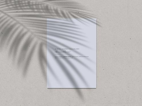 Spencerian Script Practice Workbook (Lowercase - A4 size)