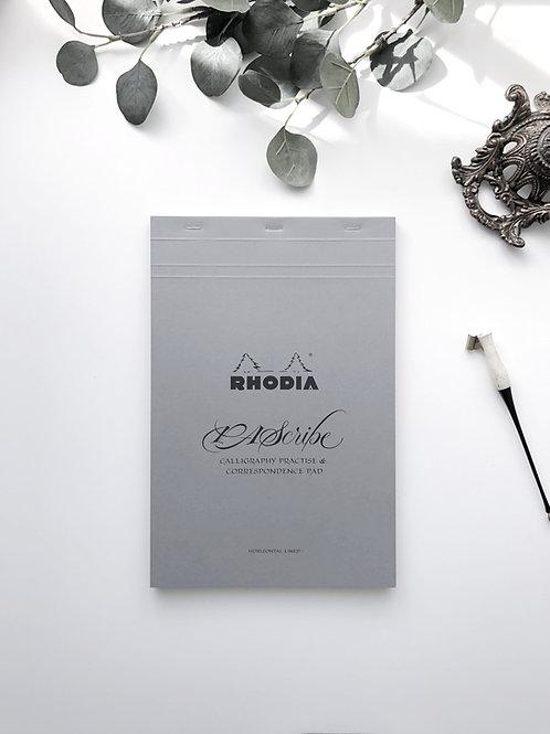 PA Scribe Rhodia Grey Maya Pad